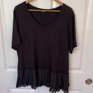 Designer top with cute ruffle